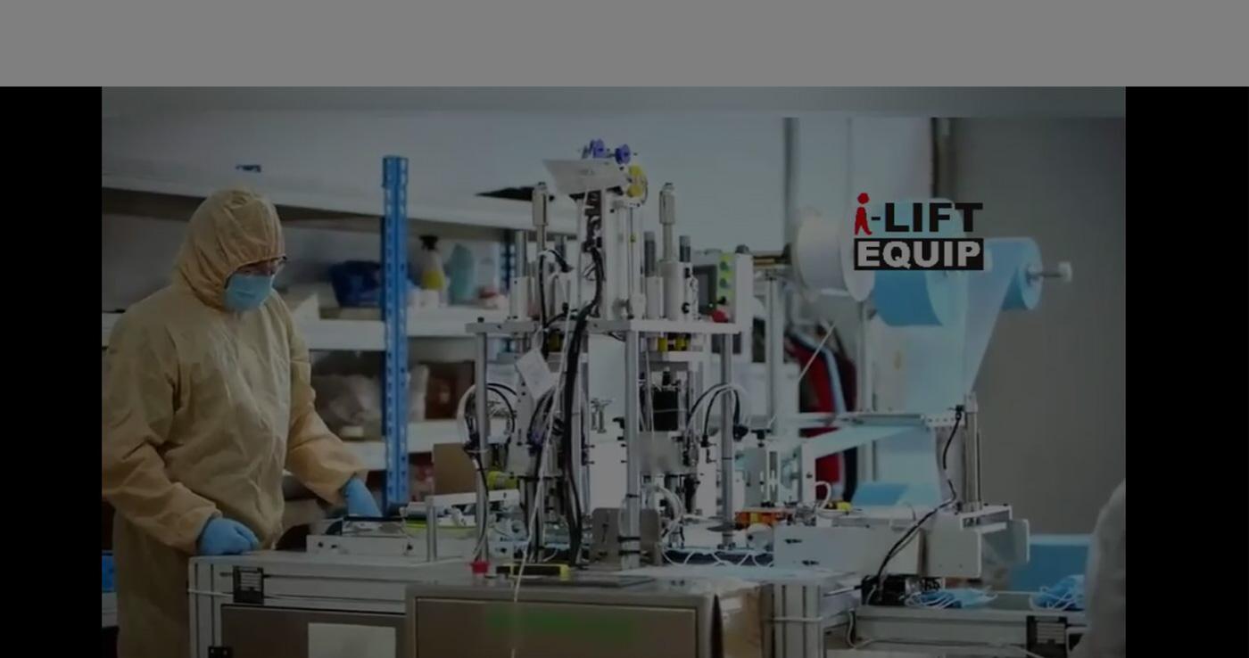 MACHINE AUTOMATIQUE DE FABRICATION DE MASQUES DE PROJET CLÉS EN MAIN